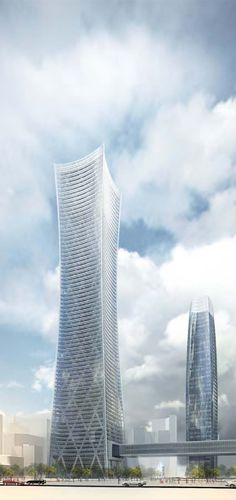 Poly International Tower , Chengdu, China by Skidmore Owings & Merrill (SOM) Architects :: height 320m