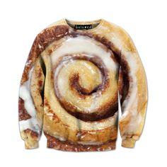 Cinnamon Roll Sweatshirt///Beloved Shirts