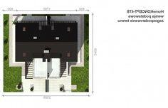 Homekoncept 47B 117.33 m2   Projekt domu bliźniaczego   projekty domów   kreoDOM.pl Floor Plans, Diagram, Floor Plan Drawing, House Floor Plans