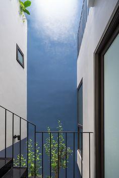 Đàm lộc House,© Triệu Chiến Studio Photo, Vietnam, House Plans, Second Floor, Stairs, Tube, Photograph, Interior Design, Architecture