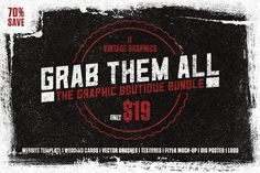 Grab Them All Bundle by Graphic Boutique on @creativemarket