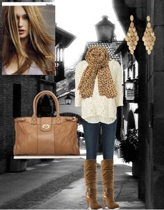 """""""Neutral Fall"""" by cassiecclayton on Polyvore"""