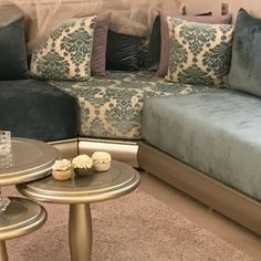 Online shopping from a great selection at Home Store. Modern Moroccan Decor, Moroccan Room, Moroccan Interiors, Living Room Sofa Design, Home Room Design, Dorm Room Bedding, Sofa Set, House Rooms, Interior Design