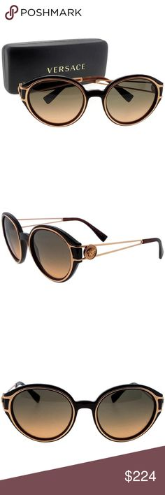 67c16c540ba2 VE4342-509318-53 VERSACE SUNGLASSES New gorgeous authentic Versace  VE4342-509318-53