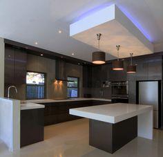 beam for lighting - but flush to ceiling