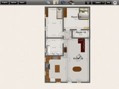 1000 sf floorplan.