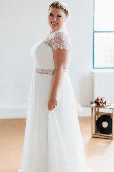 quality design e2f6e b8e53 Brautkleider große Größen