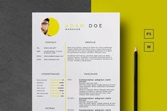 Home of Resumes Inspiration & Ideas, Beautiful Resume Ideas That Work, Find Daily High-quality resumes templates and design, Create your professional resume today ! Resume Design Template, Creative Resume Templates, Cv Template, Templates Free, Design Templates, Business Brochure, Business Card Logo, Free Resume Examples, Resume Ideas