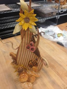 My bread sculpture =) made with dead dough! It's 100% bread!
