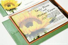 A cute idea for wedding invitations.