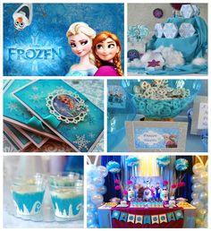 Ideas para una Fiesta con un tema de Frozen!...#frozen #frozenideas #partyideas #ideasfiesta #disney #disneyparty #fiestainfantil #partyideas #susanitascakes #talentovenezolano