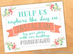 Instagram Instructionals! | 31 Free Wedding Printables Every Bride-To-Be Should Know About