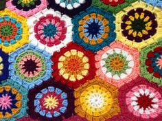 Granny Square American girl doll blanket...Knitted 18 inches doll blanket...