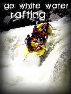 go white water rafting!  Let's do it!  #whitewaterraftingmaine