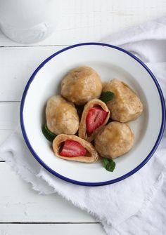 Už jste zkusili jahodové knedlíky ze špaldové mouky?