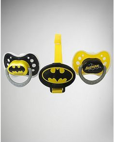 Batman Pacifier 3 Pack - Spencer's