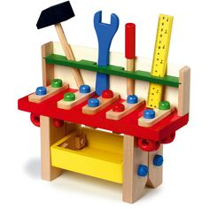 Wooden Toys - Toy Tool box, Toy Tool Bench, Toy Tools in Toys & Games, Pre-School & Young Children, Wooden Toys