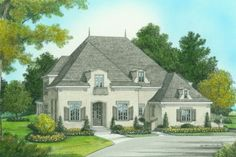 House Plan 413-800- Love layout just need less sq. ft.