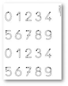 Apprendre crire les chiffres en maternelle gratuit for Ecriture en miroir psychologie