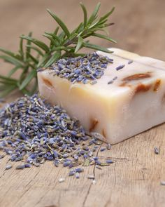 How to Make Homemade Soaps with Herbs - Learn how to make homemade soaps with easy-to-follow instructions. These five healing recipes will become instant favorites, perfect for any occasion or skin-type.