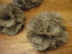 Midwestern*Molly: DIY Burlap Flower Wreath