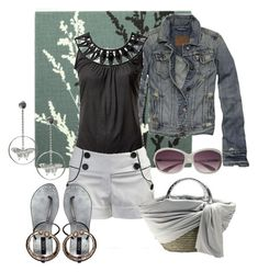 remembering the first time... by kathid on Polyvore featuring polyvore fashion style Abercrombie & Fitch Witchery Wet Seal ASOS American Eagle Outfitters Miss Sixty clothing