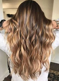Best Hair Color Ideas 2017 / 2018 brunette balayage highlights | TrendyIdeas.net | Your number one source for daily Trending Ideas