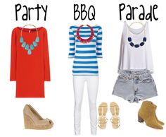 Party, BBQ, and parade outfits by Southern Charm