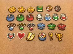Any 3 Items from The Legend of Zelda Link to the Past by VGPerlers, $6.00