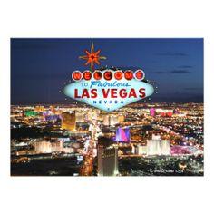 Las Vegas Invitation Card