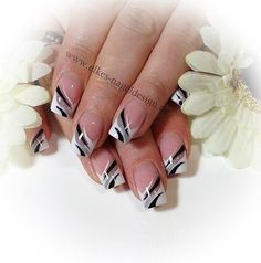 french nail art images - Google Search