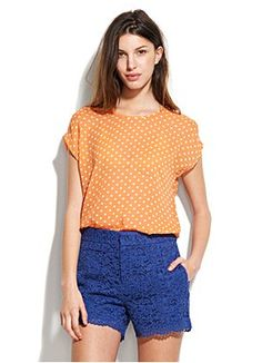 Citrus Dot Tee - madewell.com