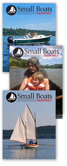 Small Boats Monthly is a monthly web-based magazine dedicated to owners and users of wooden boats that can be stored and maintained at an average-size home. It features a range of designs for oar, paddle, power, and sail. Small Boats Monthly gift subscriptions