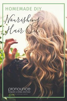 Nourishing DIY Hair Oil…no more dry, brittle hair!