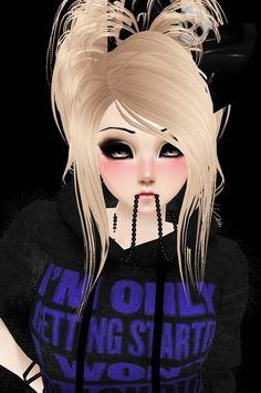 Loving this! Wish my imvu avatar looked like her