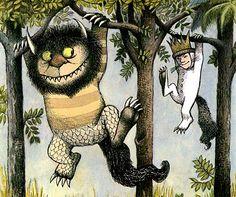 Where the Wild Things Are - Maurice Sendak.