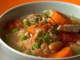 Picture of Hungry Chick Chunky Soup Recipe 3p+