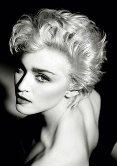 Madona   by HERB RITTS