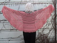 Ravelry: Lagniappe Shawl pattern by Esther Sandrof