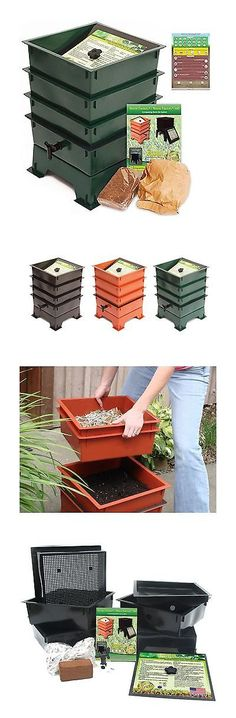garden compost bins worm factory ds3gt 3tray worm composting bin bonus