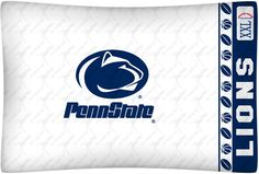 Penn State Nittany Lions NCAA Standard Pillow Case/Cover