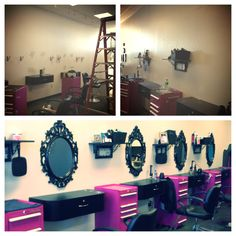 Salon make over idea