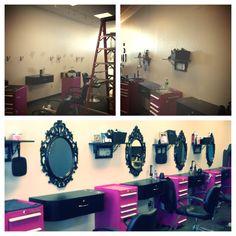 Salon make over idea