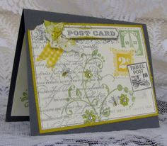 Lovely Post Card by meisu4 - Cards and Paper Crafts at Splitcoaststampers