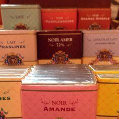 Mazet chocolate from Paris