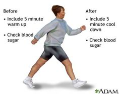 Type 2 #Diabetes and exercise suggestions