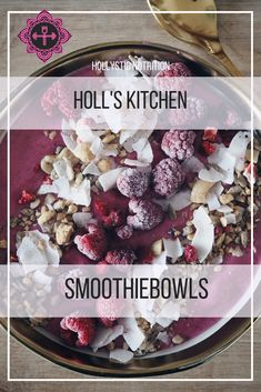 How to Smoothiebowl: make your own and get inspired by this Basic guide and recipe! Soul Food, Acai Bowl, Nutrition, Vegan, Meals, Inspired, Breakfast, Desserts, Blog