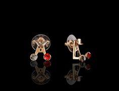 Brilliant Petite Peekaboo Earrings - $30 http://www.muwae.com/shop/brilliant-petite-peekaboo-earrings