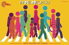 Tod@s somos peatones en algún momento del día, celebremos el Día Mundial del Peatón respetando a la Cebra! #YOCEDOELPASO  Fuente: Causa en común https://www.facebook.com/causaencomun/  www.facebook.com/CampanaYoCedoElPaso