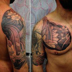 31 best tribal flower tattoos men images on pinterest arm tattoos 100 lotus flower tattoo designs for men cool ink ideas mightylinksfo
